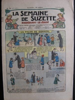 La Semaine de Suzette 28e année n°46 (1932) La façon de donner – Nane et sa fille