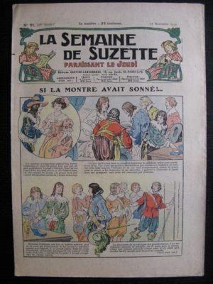 La Semaine de Suzette 28e année n°51 (1932) Si la montre avait sonné – Nane et sa fille