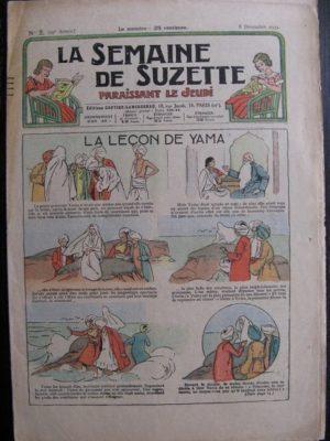 La Semaine de Suzette 29e année n°2 (1932) La leçon de Yama – Bécassine