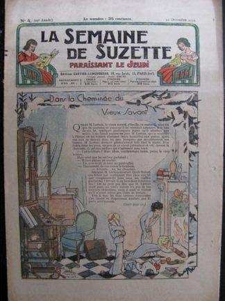 La Semaine de Suzette 29e année n°4 (1932)Dans la cheminée du vieux savant (Manon Iessel) Bécassine