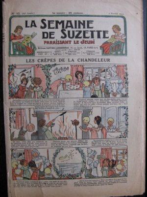 La Semaine de Suzette 29e année n°10 (1933) Les crêpes de la chandeleur (Manon Iessel)- Bécassine Bleuette