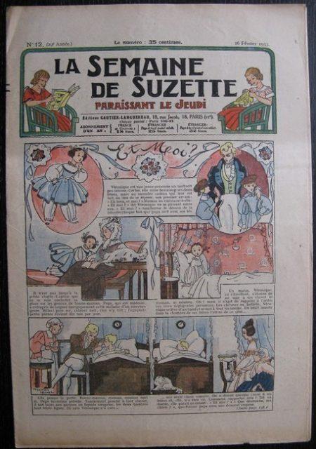 La Semaine de Suzette 29e année n°12 (1933) Et moi? (Manon Iessel) Bécassine