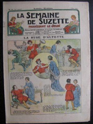 La Semaine de Suzette 29e année n°14 (1933) La ruse d'Alyette – Bécassine Bleuette