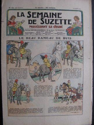 La Semaine de Suzette 29e année n°19 (1933) Le beau rameau de buis (Le Rallic) Bécassine