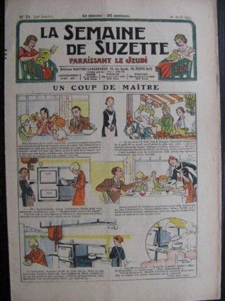 La Semaine de Suzette 29e année n°21 (1933) Un coup de maître (Manon Iessel) Bécassine