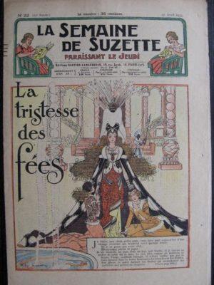 La Semaine de Suzette 29e année n°22 (1933) La tristesse des fées (Félix Lorioux) Bécasine