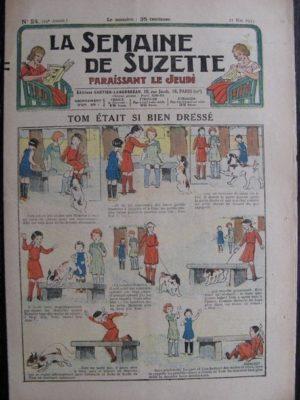 La Semaine de Suzette 29e année n°24 (1933) Tom était si bien dréssé – Bécassine