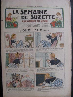 La Semaine de Suzette 29e année n°25 (1933) Ohé!Ohé! – Bécassine