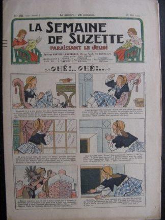 La Semaine de Suzette 29e année n°25 (1933) Ohé!Ohé! - Bécassine