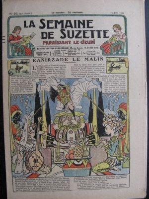 La Semaine de Suzette 29e année n°29 (1933) Renirzade le malin – Bécassine Bleuette