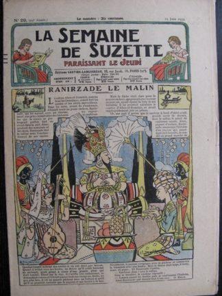 La Semaine de Suzette 29e année n°29 (1933) Renirzade le malin - Bécassine Bleuette
