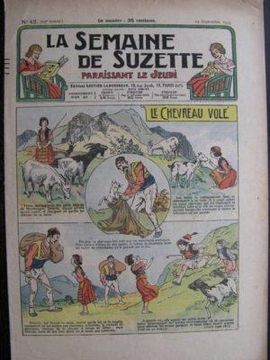 La Semaine de Suzette 29e année n°42 (1933) Le chevreau volé – Nane chez Yasmina