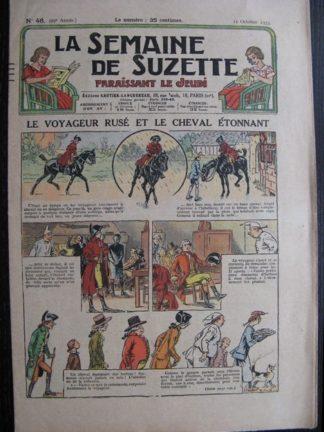 La Semaine de Suzette 29e année n°46 (1933) Le voyageur rusé - Nane chez Yasmina