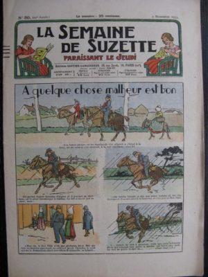 La Semaine de Suzette 29e année n°50 (1933) A quelque chose malheur est bon – Nane chez Yasmina