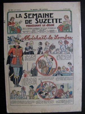 La Semaine de Suzette 30e année n°27 (1934) – Michaël le sombre(Bécassine)