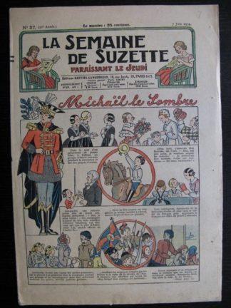 La Semaine de Suzette 30e année n°27 (1934) - Michaël le sombre(Bécassine)