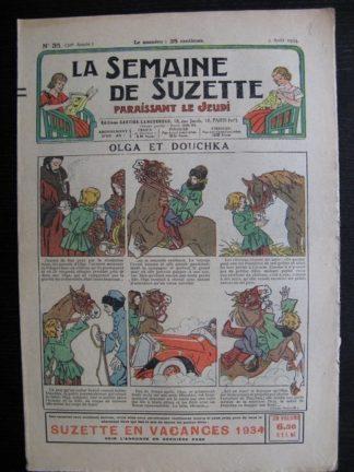 La Semaine de Suzette 30e année n°35 (1934) - Olga et Douchka (Titoute)