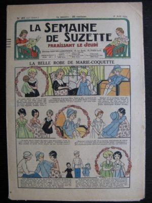 La Semaine de Suzette 30e année n°37 (1934) – La belle robe de Marie-Coquette (Titoute)/