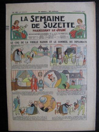 La Semaine de Suzette 30e année n°40 (1934) - Le coq de la vielle Nanon (Nane)/