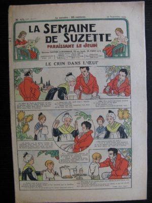 La Semaine de Suzette 30e année n°43 (1934) – Le crin dans l'œuf (Nane)