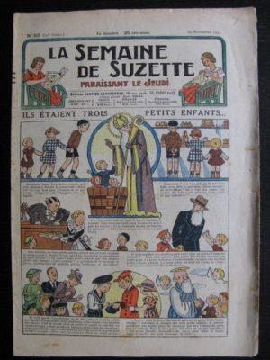 La Semaine de Suzette 30e année n°52 (1934) – Ils étaient trois petits enfants (Nane)