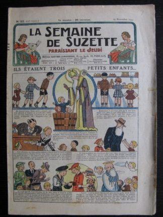La Semaine de Suzette 30e année n°52 (1934) - Ils étaient trois petits enfants