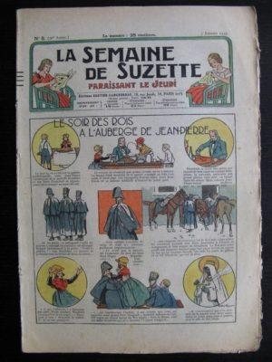 La Semaine de Suzette 31e année n°5 (3/01/1935) – Le soir des rois à l'auberge (Bécassine Bleuette)