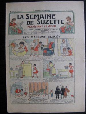 La Semaine de Suzette 31e année n°6 (10/01/1935) – Les marrons glacés (Bécassine)