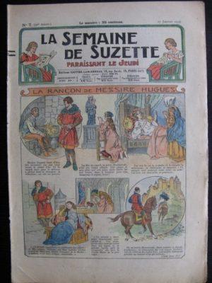 La Semaine de Suzette 31e année n°7 (17/01/1935) – La rançon de Messire Hugues (Bécassine Bleuette)