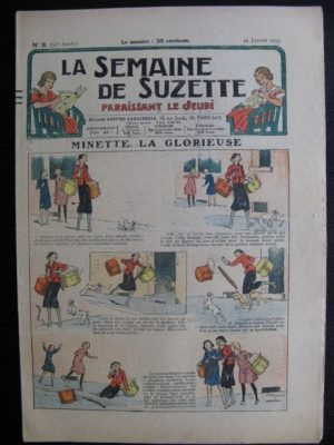 La Semaine de Suzette 31e année n°8 (24/01/1935) – Minette la glorieuse (Bécassine)