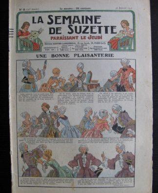 La Semaine de Suzette 31e année n°9 (31/01/1935) - Une bonne plaisanterie (Bécassine Bleuette)