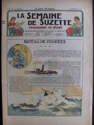 La Semaine de Suzette 33e année n°3 (17/12/1936) - Bateau de poupées (Bécassine Bleuette)