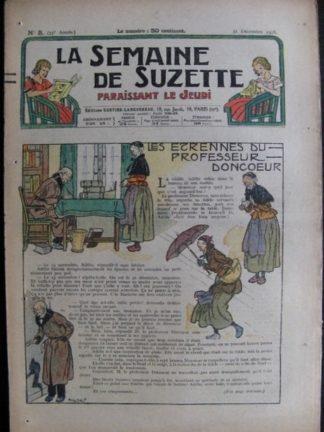 La Semaine de Suzette 33e année n°5 (31/12/1936) - Les étrennes du professeur Donceur (Bécassine Bleuette)