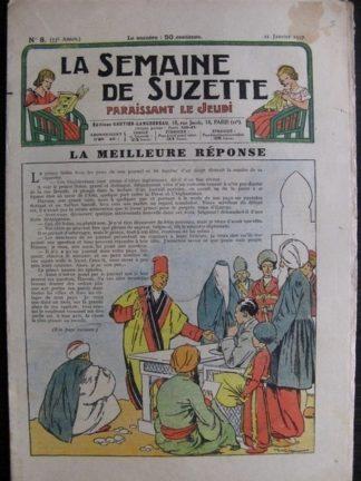 La Semaine de Suzette 33e année n°8 (21/01/1937) - La meilleure réponse ( bécassine Gautier-Languereau)