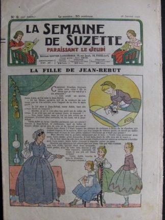 La Semaine de Suzette 33e année n°9 (28/01/1937) - La fille de Jean-Rebut (Bécassine Bleuette)