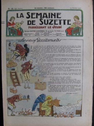 La Semaine de Suzette 33e année n°13 (25/02/1937) - Le vieux Peccatamundi (Bécassine)