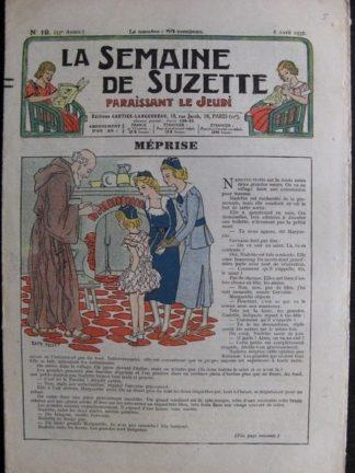 La Semaine de Suzette 33e année n°19 (8/04/1937) - Les mémoires d'un petit panier (Bécassine Bleuette)