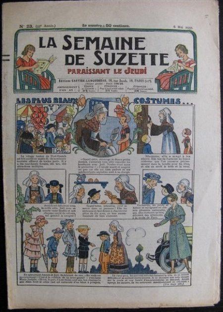 La Semaine de Suzette 33e année n°23 (6/05/1937) - Les plus beaux costumes