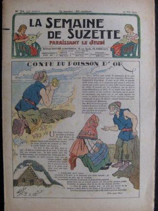 La Semaine de Suzette 33e année n°24 (13/05/1937) - Conte du poisson d'or