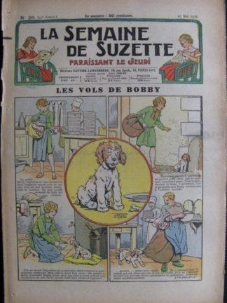 La Semaine de Suzette 33e année n°26 (27/05/1937) - Les vols de Bobby