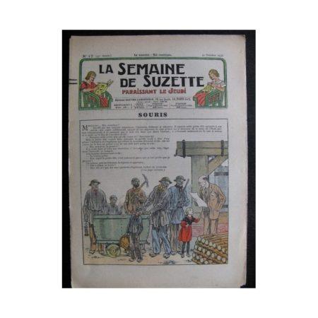 La Semaine de Suzette 33e année n°47 (21/10/1937) - Souris