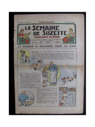La Semaine de Suzette 33e année n°50 (11/11/1937) - Monsieur le boulanger perdit un client