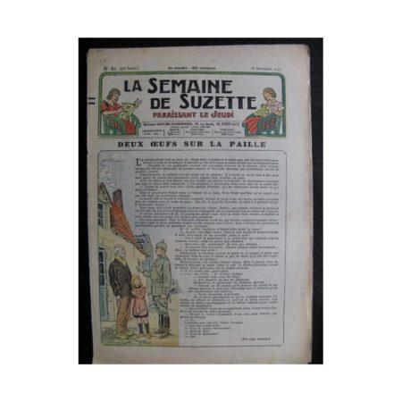 La Semaine de Suzette 33e année n°51 (18/11/1937) - Deux œufs sur la paille