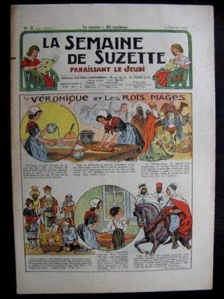 La Semaine de Suzette 32e année n°6 (9/01/1936) - Véronique et les Rois Mages