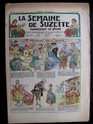 La Semaine de Suzette 32e année n°11 (13/02/1936) - Le menuet du lapin