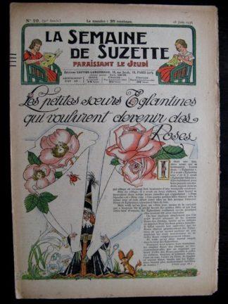 La Semaine de Suzette 32e année n°29 (18/06/1936) - Les petites sœurs Eglantines