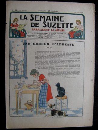 La Semaine de Suzette 32e année n°38 (20/08/1936) - Une erreur d'adresse