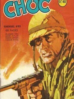 CHOC (1E SERIE) N°63 La grande épreuve 2e partie (Artima 1964)