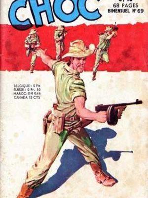 CHOC (1E SERIE) N°69 L'odyssée du sergent Garrett (Artima 1964)