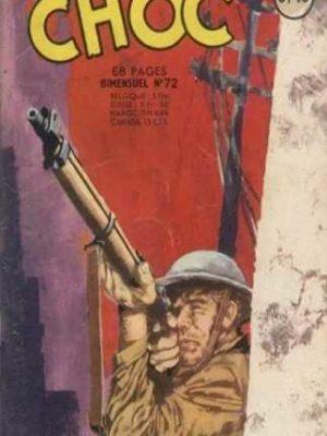 CHOC (1E SERIE) N°72 Un nouveau départ (Artima 1964)